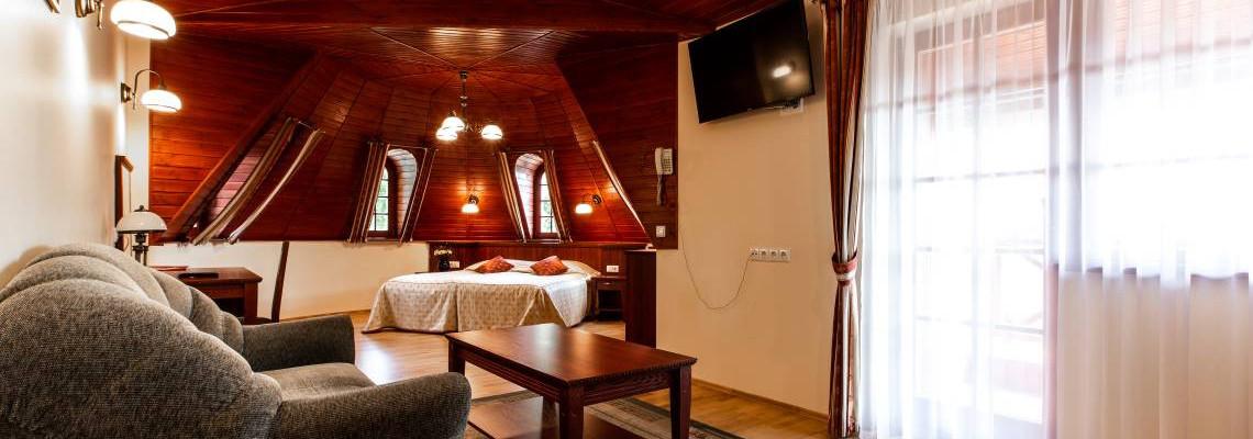 Апартаменты одной комнаты