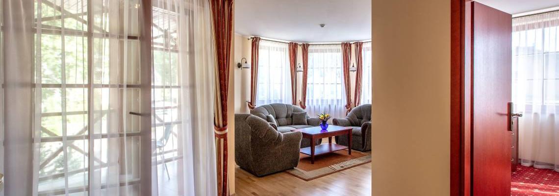 Апартаменты из двух комнат
